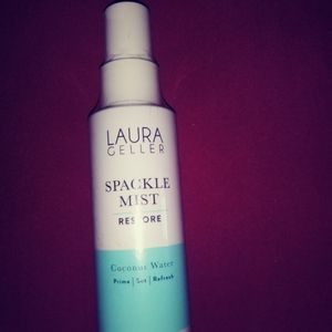 Laura Geller spackle mist.